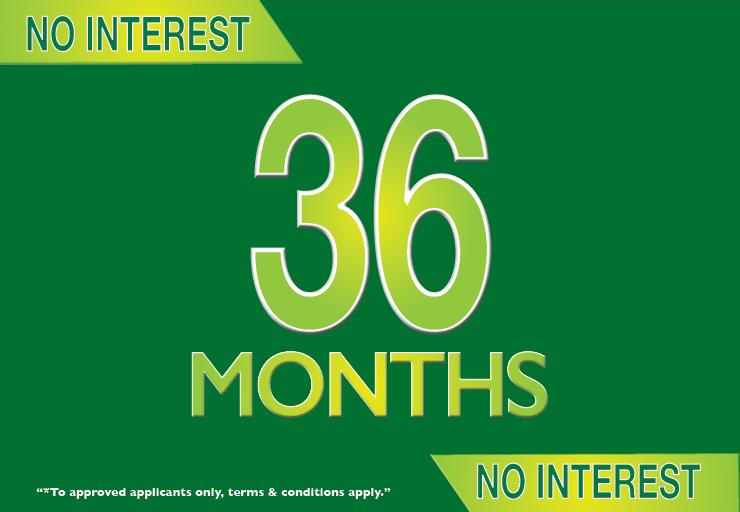 36 Months Interest